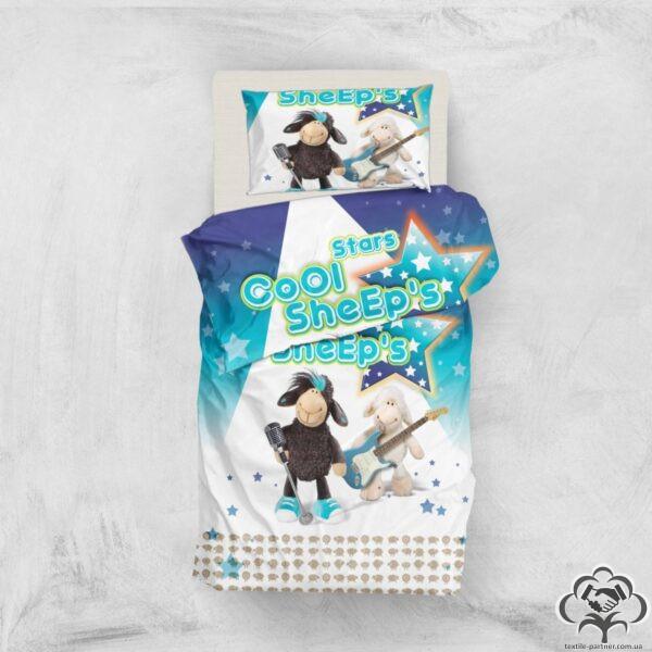Постельное бельё Eponj Home 3D Micro Satin Sheeps